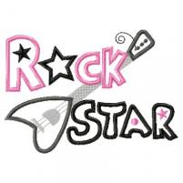 201x201 Cute Rock Star Clipart 2