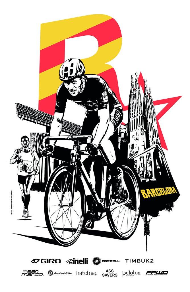 668x1024 Red Hook Criterium X Rockstar Games Barcelona No.2 Poster