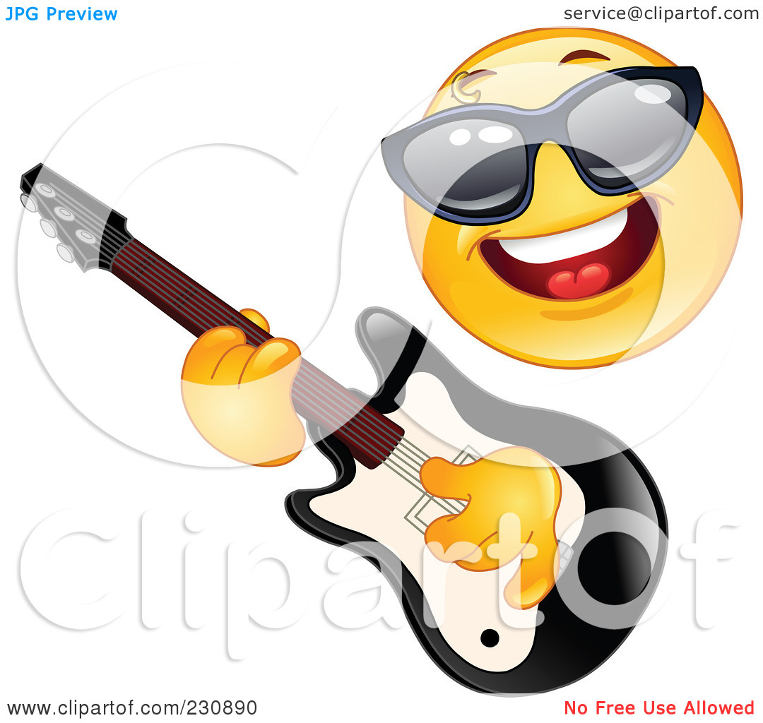 1080x1024 Rock Star Smiley Face Clipart