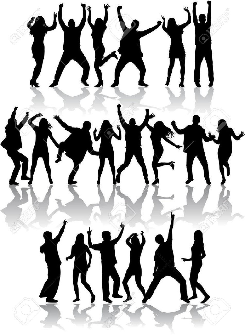 952x1300 Group Dancing Sinchro Dance Dance Clipart, Explore Pictures