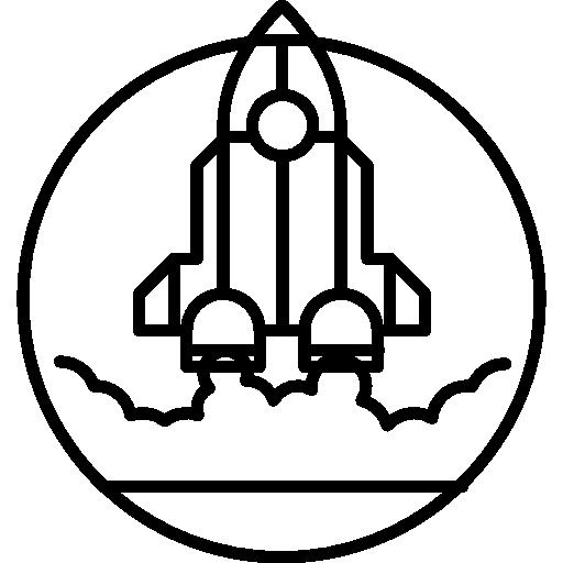 512x512 Rocket Outline, Rocket, Space Ship Outline, Rocket Launch, Rocket
