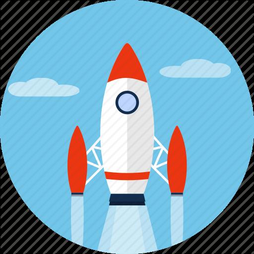 512x512 Rocket, Ship, Shuttle, Space, Spacecraft, Spaceship Icon Icon