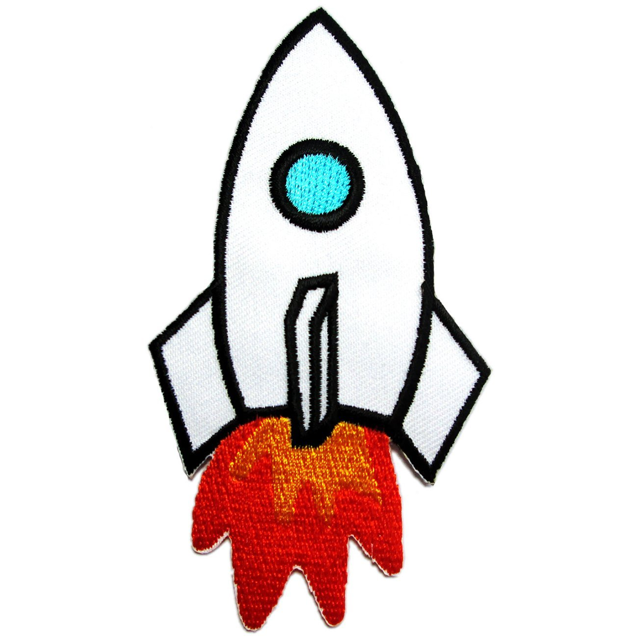 1300x1300 Iron On Patches Rocket For Kids