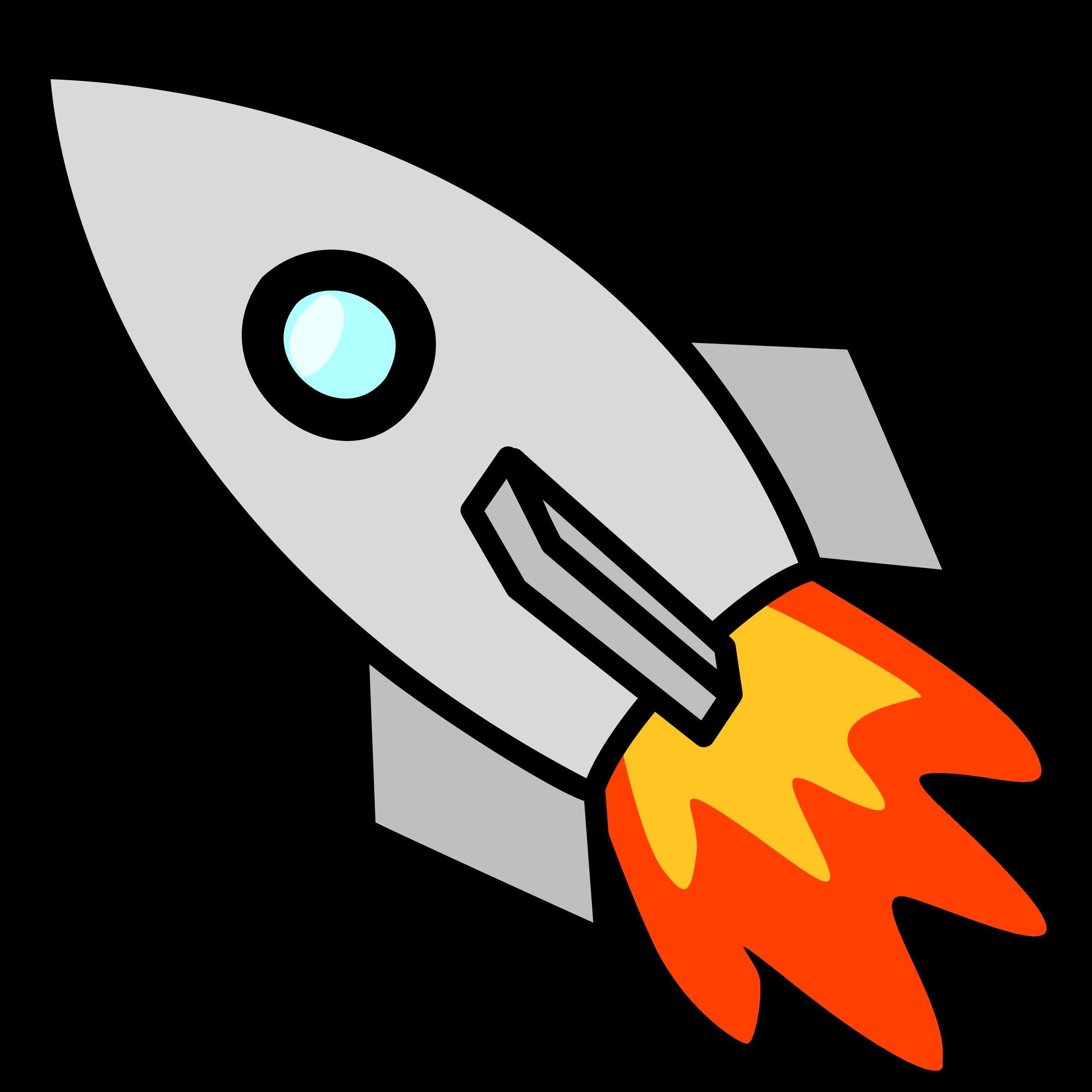 2400x2400 Space Rockets Clip Art Clipart