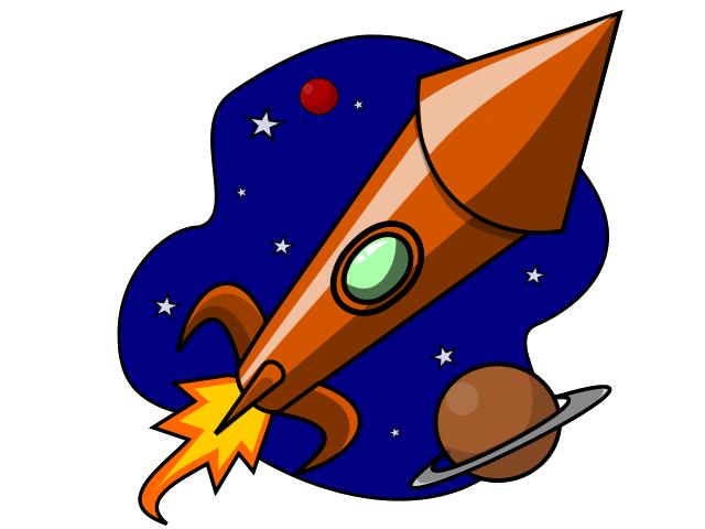 640x480 Space Rockets Clip Art Clipart 2