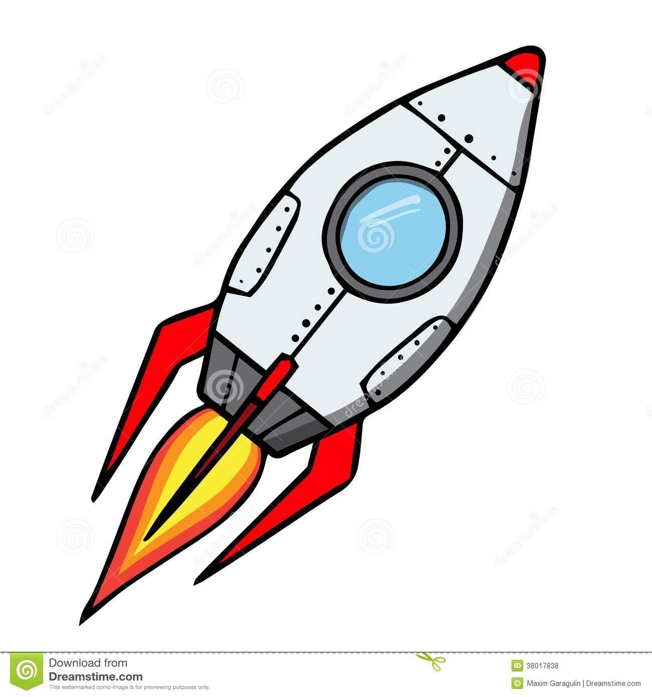 1300x1390 Cartoon Rockets Clipart
