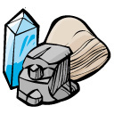 128x128 And Minerals Clip Art Black And White