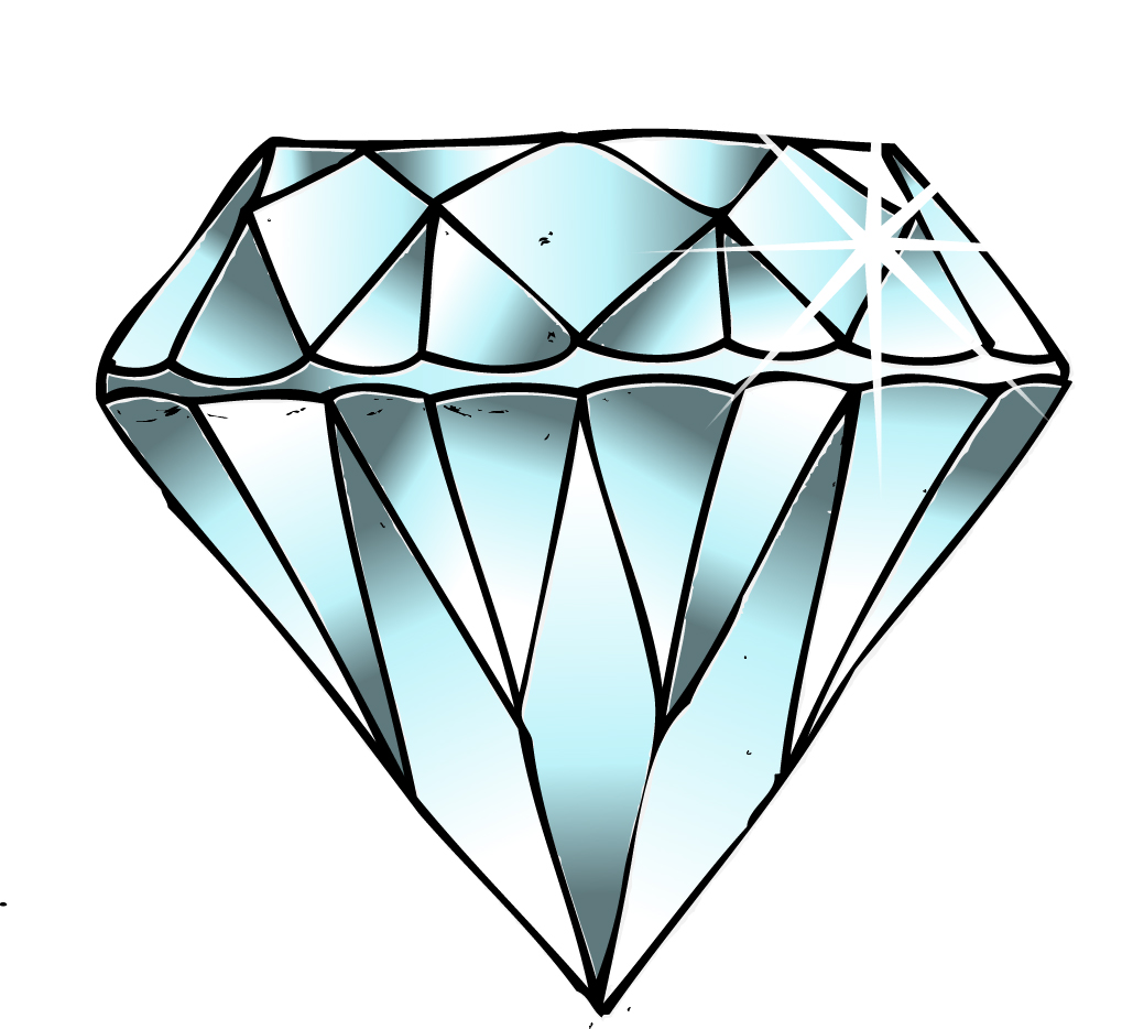 1029x934 Diamond Clip Art Rocks Minerals Diamond Html