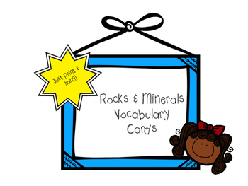 350x263 Rock Cycle Vocabulary Cards Teaching Resources Teachers Pay Teachers