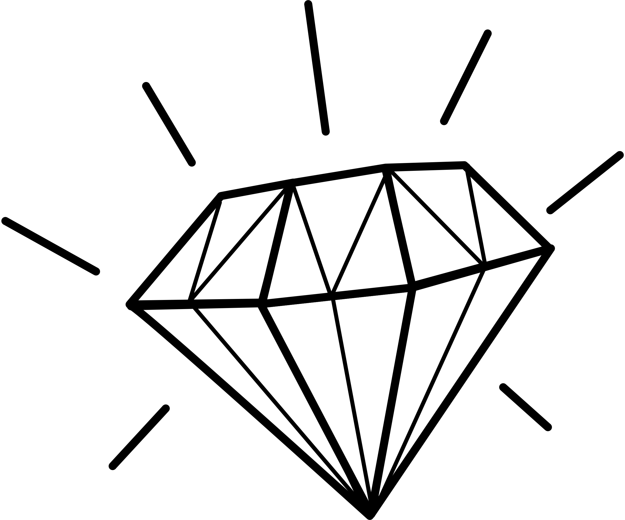 2400x1997 Best Diamond Clip Art