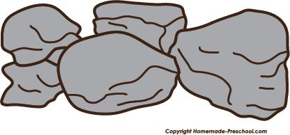 416x194 Rocks Clipart