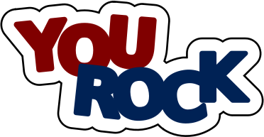 372x193 You Rock Education Encouraging Words You Rock Html Clip Art Image
