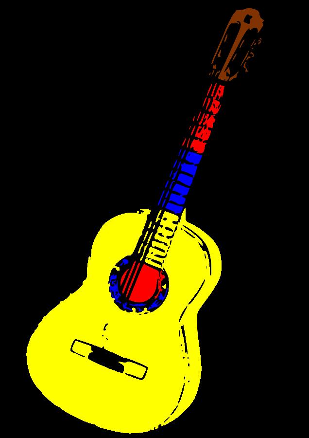 636x900 Free Guitar Clipart