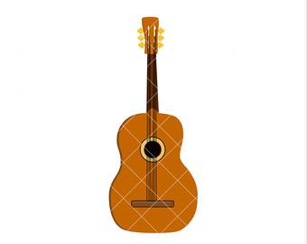 340x270 Guitar clip art Etsy