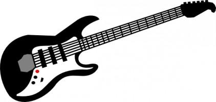422x200 Guitar clipart star