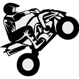 275x275 Attack Graphics Rider Decals Quad Wheelie Dual Sport Rocky