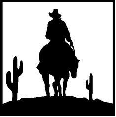 Rodeo Silhouette Clipart