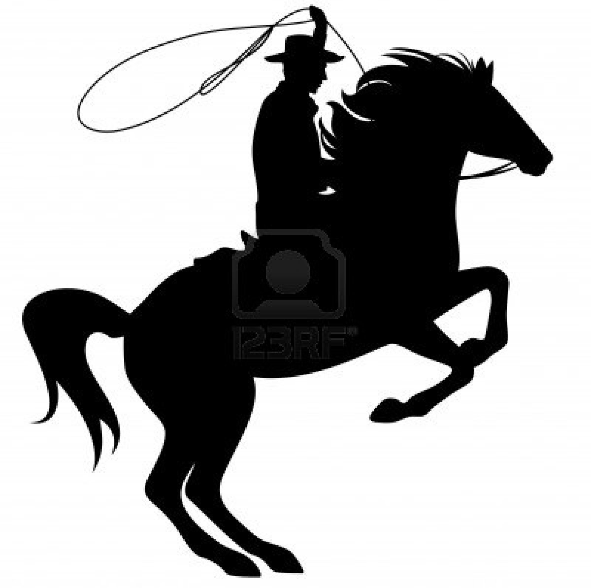 1200x1194 Rodeo Silhouette Clipart