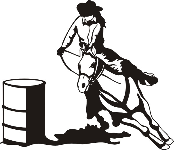 Rodeo Silhouette Clipart | Free download best Rodeo ...