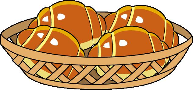 633x297 Bread Roll Clipart Bakery