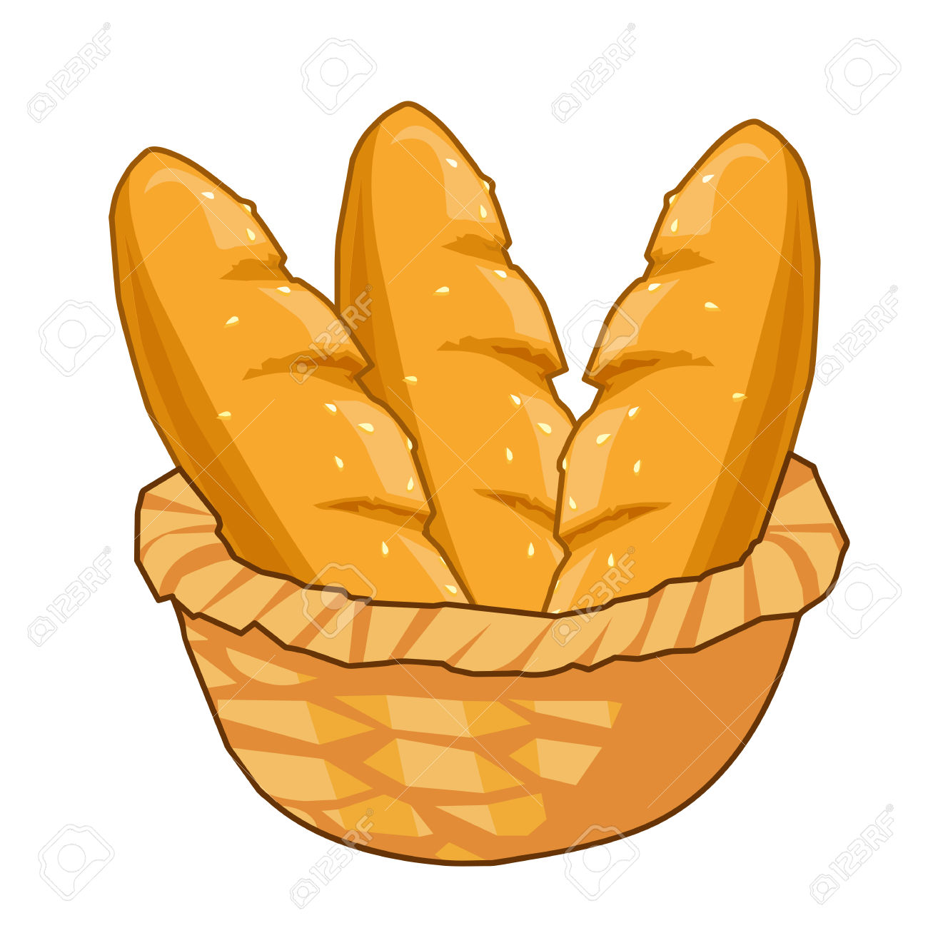 1300x1300 Bread Roll Clipart Bread Basket
