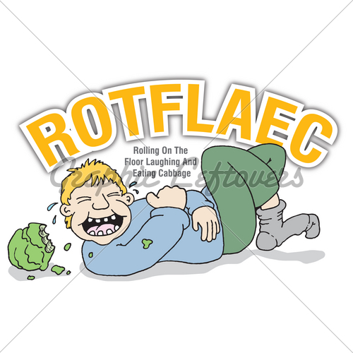 500x500 Rolling On The Floor Laughing Clipart