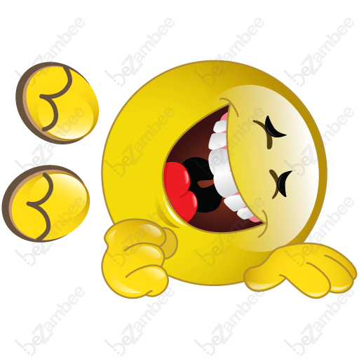 512x512 Rolling On The Floor Laughing Clipart