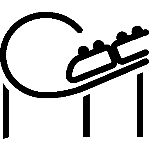 512x512 City Roller Coaster Icon Ios 7 Iconset Icons8
