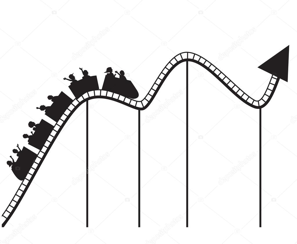 1023x841 Rollercoaster Stock Vectors, Royalty Free Rollercoaster