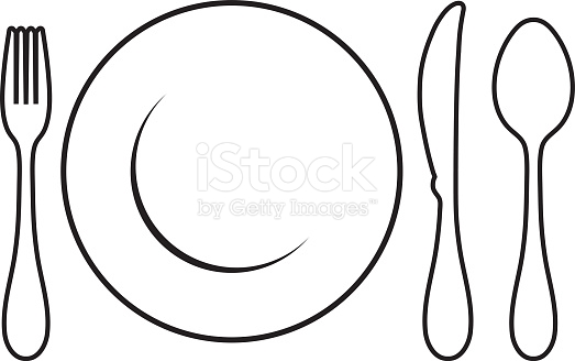 523x328 Setting Clipart Black And White