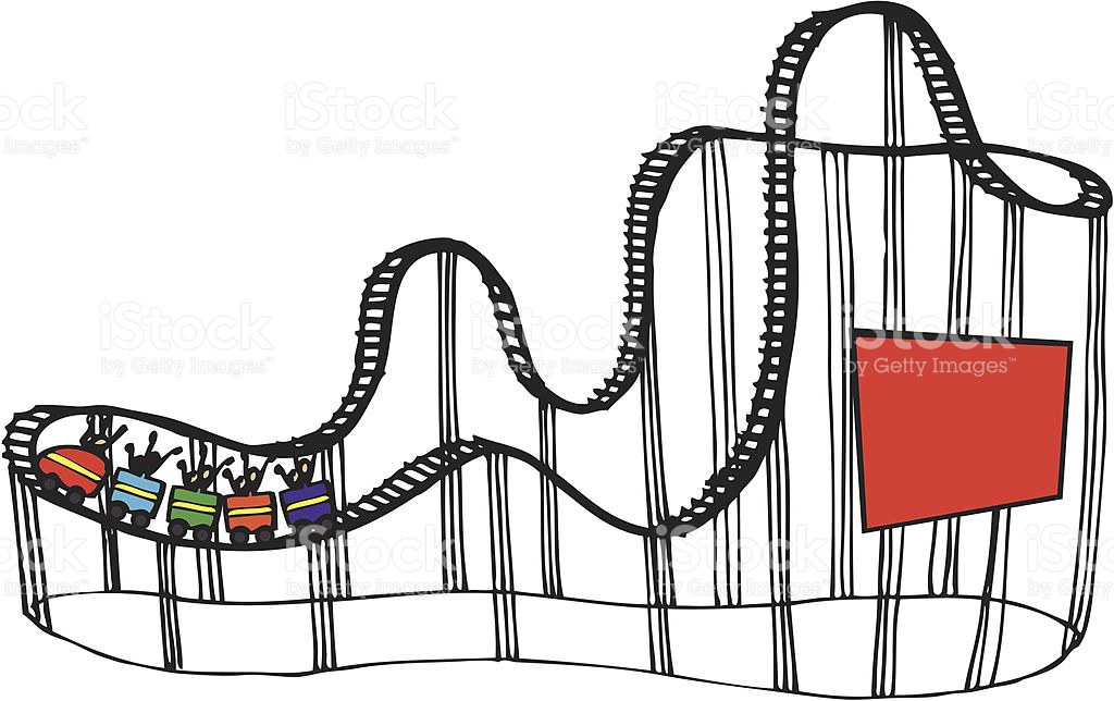 1024x644 Carnival Clipart Roller Coaster