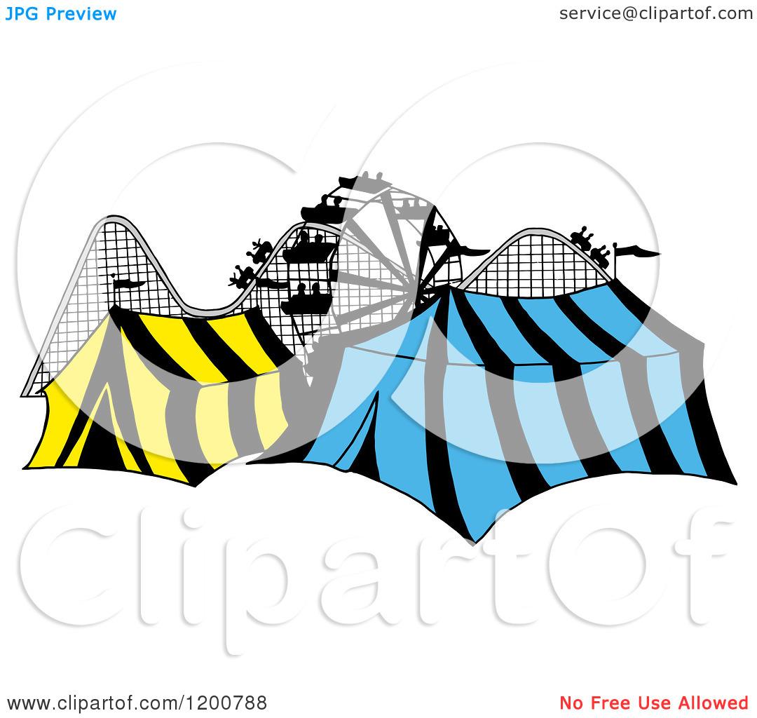 1080x1024 Cartoon Roller Coaster Clipart
