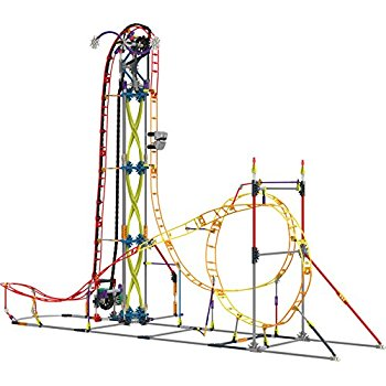 350x350 K'Nex Thrill Rides Web Weaver Roller Coaster Building Set For Ages
