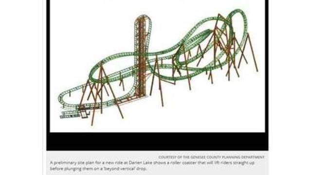 639x360 New Darien Lake Roller Coaster To Open May 2018 Rochester, Ny
