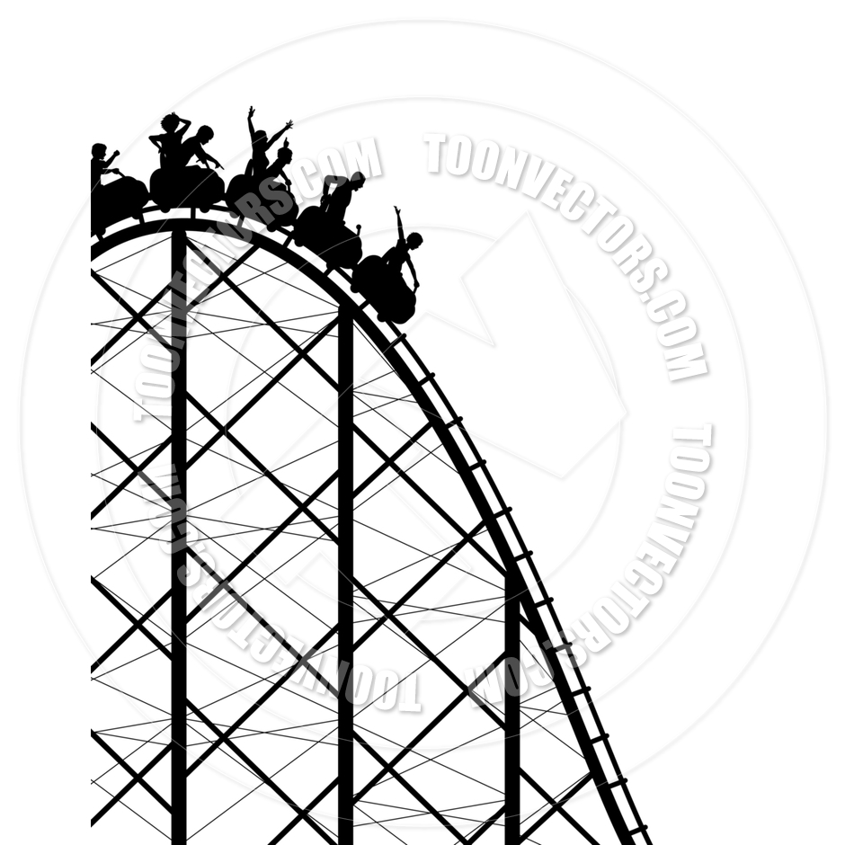 940x940 Roller Coaster Clipart