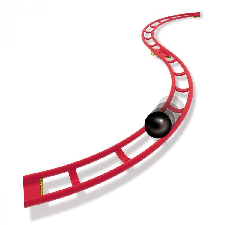 750x750 Roller Coaster Mini Rail Roller Coaster 6430 Quercetti