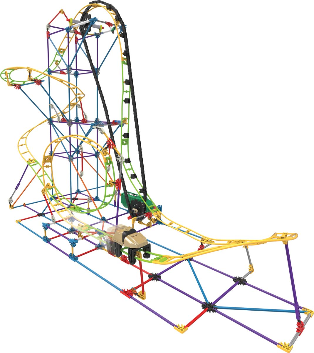 1069x1200 K'Nex Education Roller Coaster Kit Classroom Pack Creative