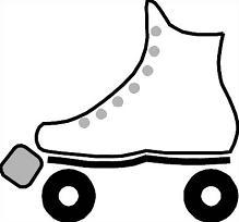 219x204 Free Roller Skates Clipart