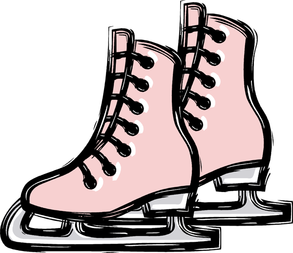 600x518 Gallery For Free Roller Skating Clip Art Image
