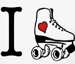 250x215 Roller Skates Clipart