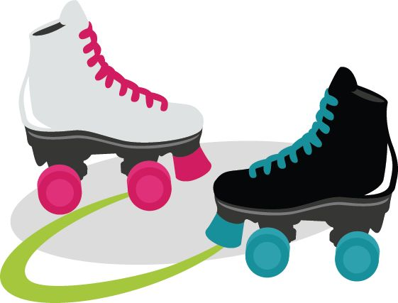 561x427 Shoe Clipart Roller Skating