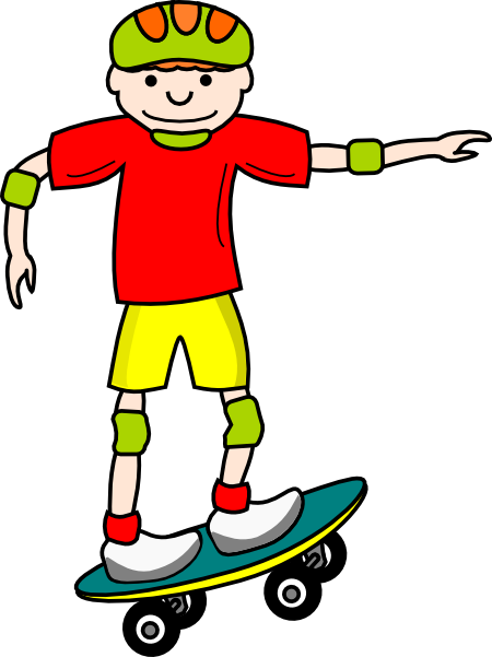 450x601 Gallery For Free Roller Skating Clip Art Image