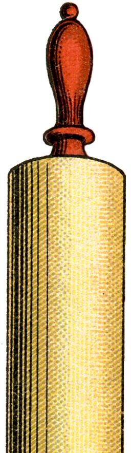 258x882 Free Vintage Rolling Pin Image