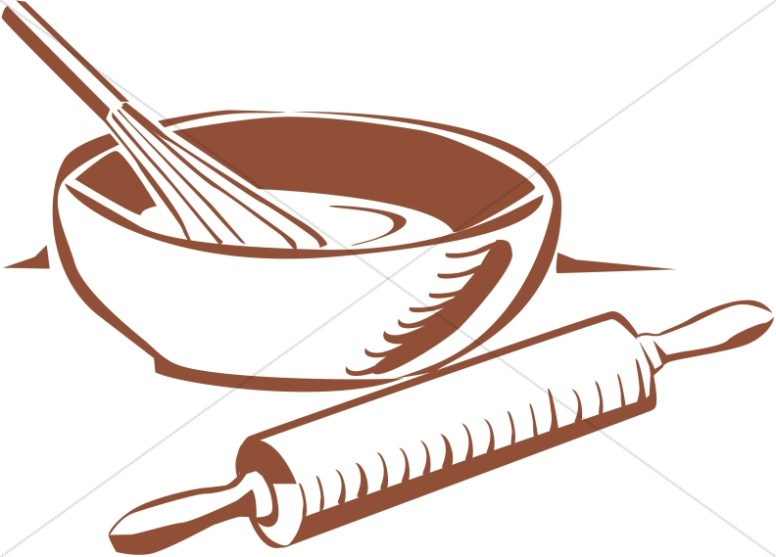 776x557 Rolling Pin Clipart