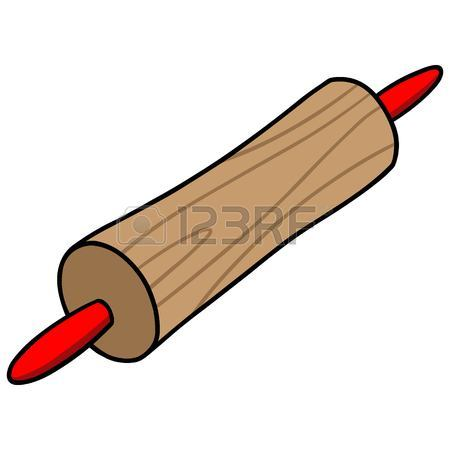 450x450 Rolling Pin Illustration Royalty Free Cliparts, Vectors, And Stock