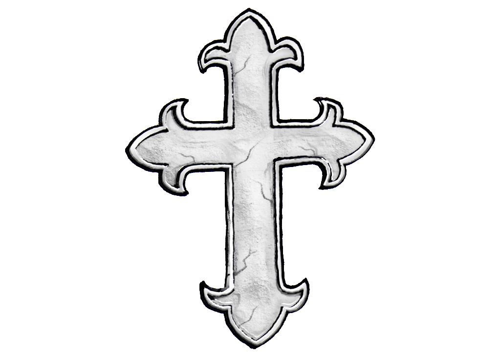 1023x731 Catholic Cross Clipart