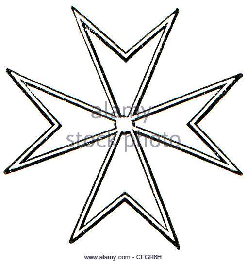 509x540 Maltese Cross Design Stock Photos Amp Maltese Cross Design Stock
