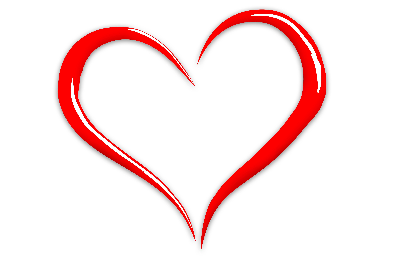 6000x4000 Free Images Love, Heart, Line, Symbol, Romance, Romantic, Font