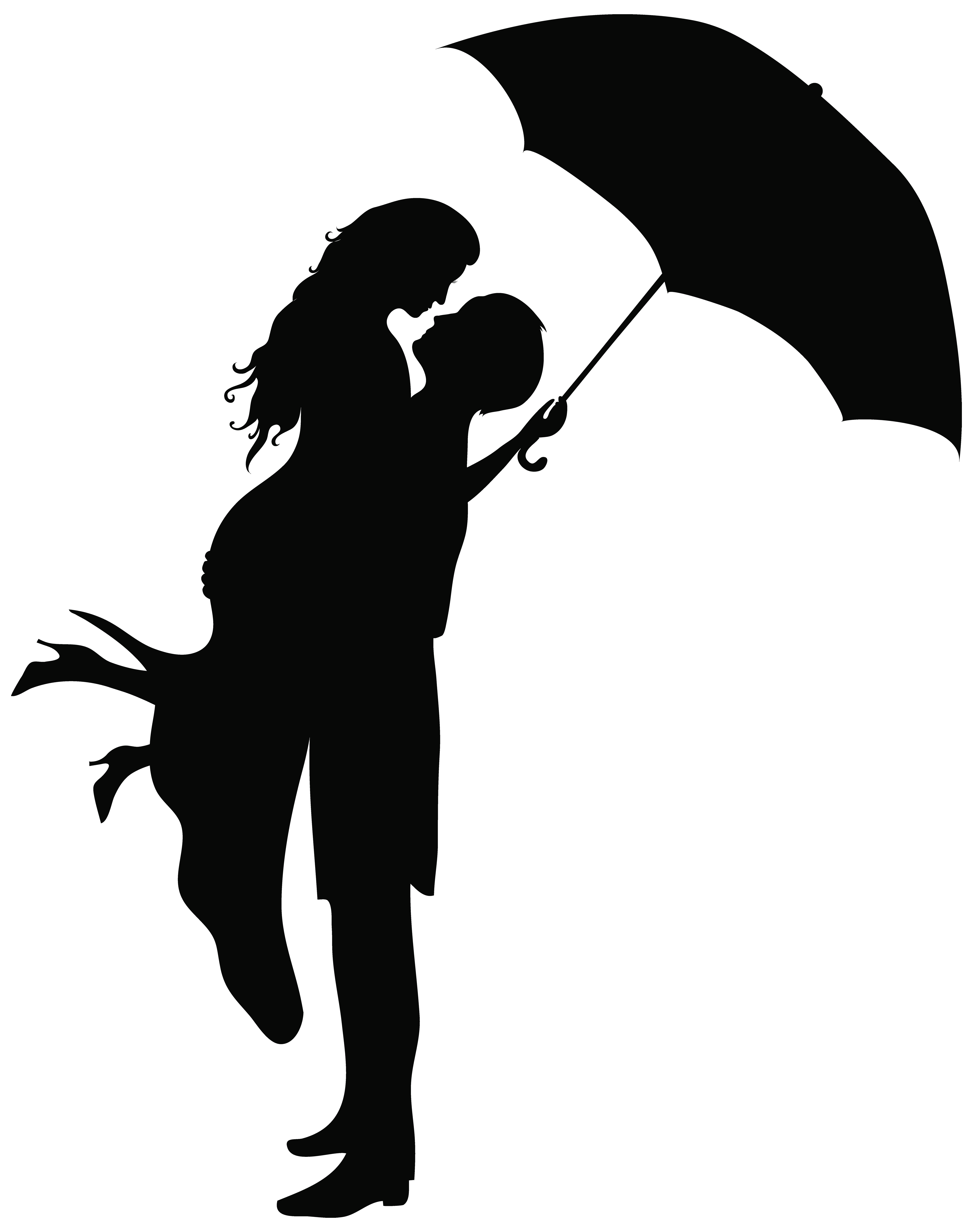 6315x8000 Romantic Couple Silhouettes Png Clip Art Imageu200b Gallery