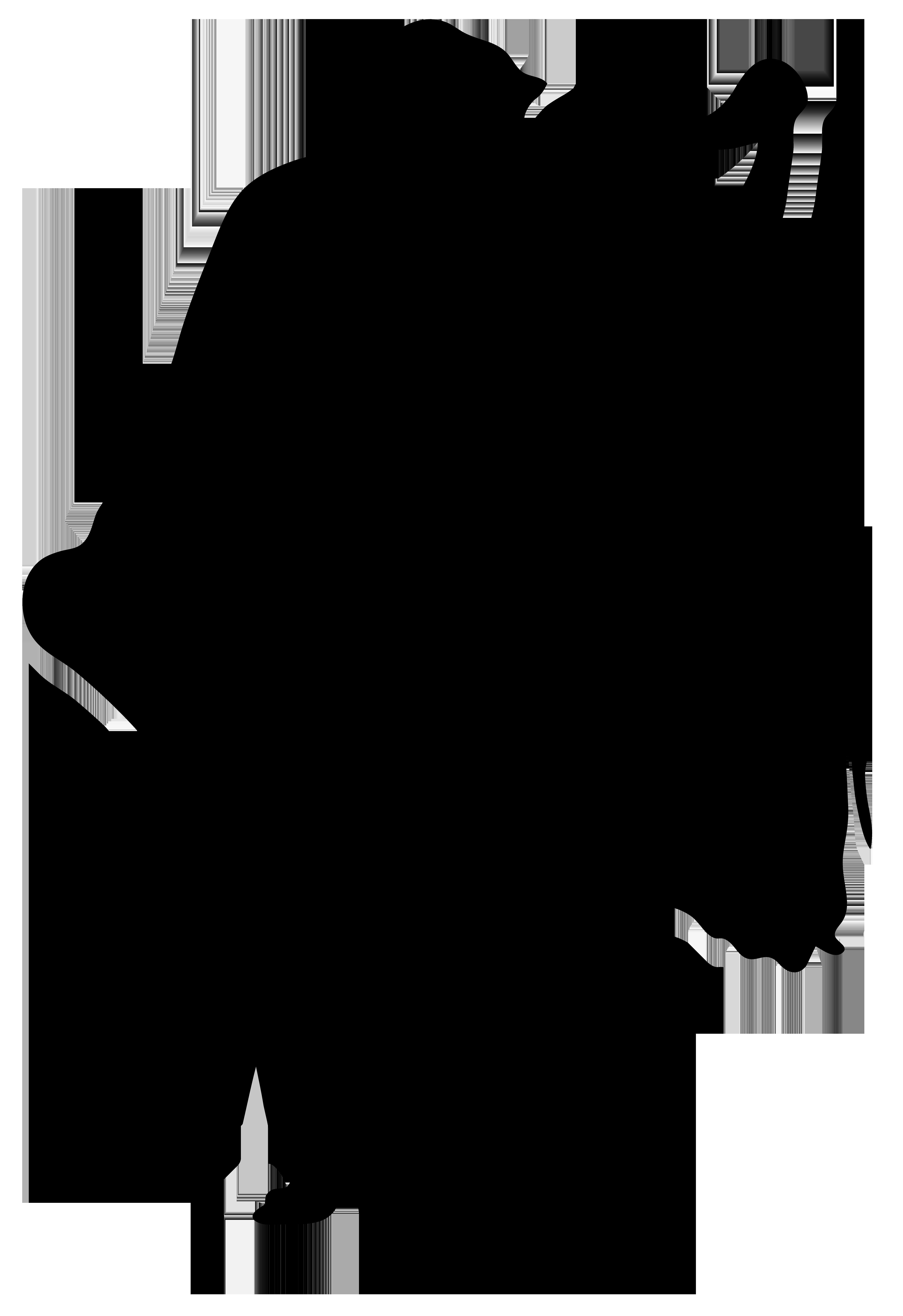 5490x8000 Romantic Dancers Silhouette Png Transparent Clip Art Image